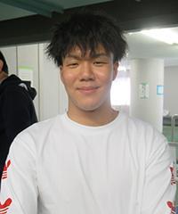 山川奨太選手