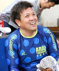 荒井崇博選手